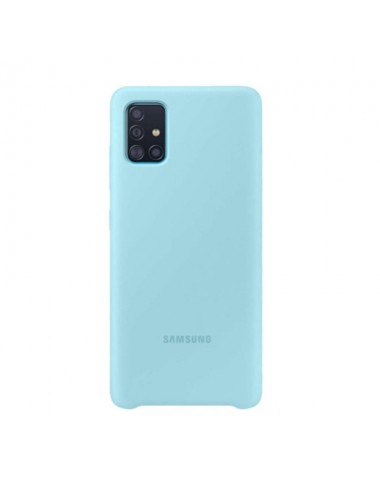 Samsung Silicon Cover A51 Blue